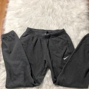 Gray Cuffed Nike Sweatpants Used Size Small